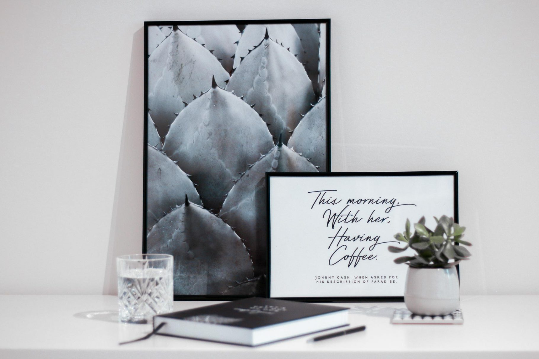 WORKSPACE INSPIRATION W/ JUNIQE